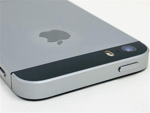 【中古】【安心保証】 iPhoneSE[32GB] UQモバイル MP822J スペースグレイ