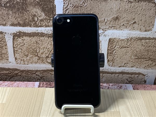 【中古】【安心保証】 iPhone7[128GB] au NNCP2J ジェットブラック
