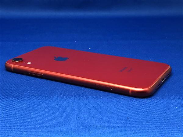 【中古】【安心保証】 iPhoneXR[128GB] SIMロック解除 au レッド