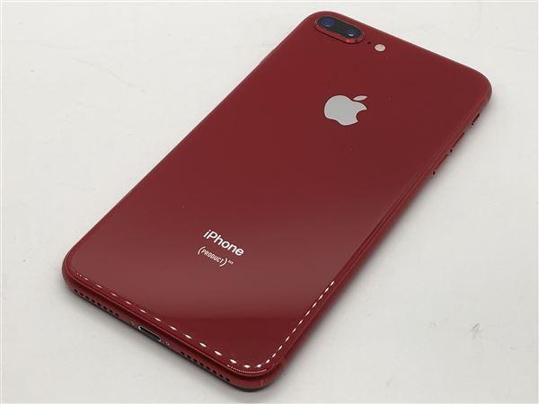 【中古】【安心保証】 iPhone8Plus[256GB] SIMロック解除 au レッド