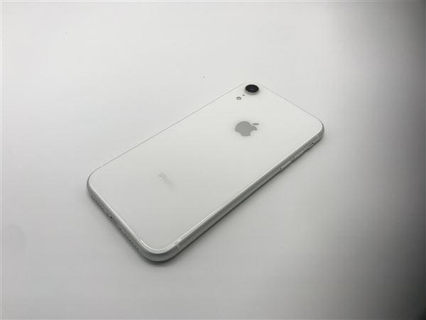 【中古】【安心保証】 iPhoneXR[64GB] au MT032J ホワイト