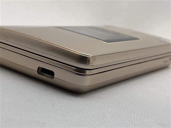 【中古】【安心保証】 SoftBank 807SH ゴールド