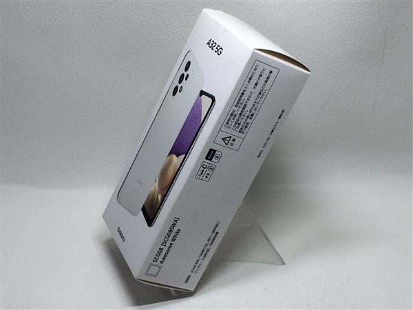 【中古】【安心保証】 au SCG08 [64GB] (5G) オーサムホワイト