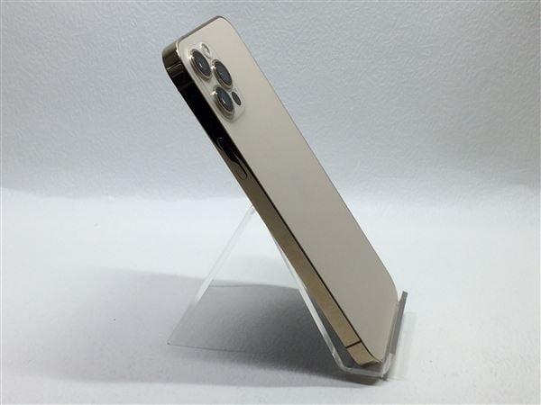 【中古】【安心保証】 iPhone12Pro[128GB] SoftBank MGM73J ゴールド