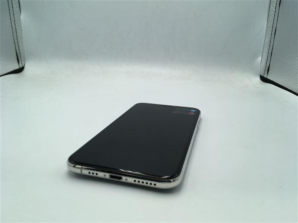 【中古】【安心保証】 iPhoneXS[256GB] docomo MTE12J シルバー