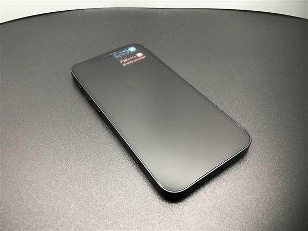 【中古】【安心保証】 iPhone12mini[64GB] au MGA03J ブラック