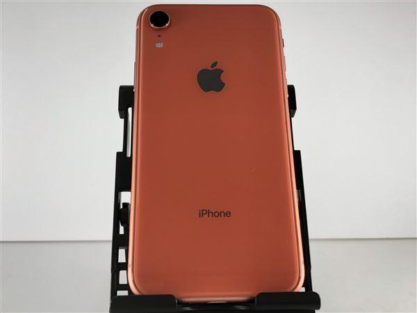 【中古】【安心保証】 iPhoneXR[128GB] docomo MT0T2J コーラル