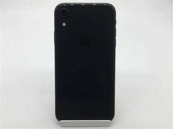 【中古】【安心保証】 iPhoneXR[64GB] docomo NT002J ブラック