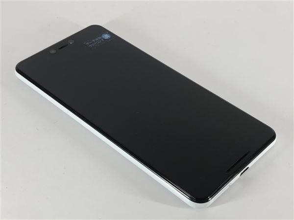 【中古】【安心保証】 SoftBank Pixel 3XL[64G] クリアリーホワイト