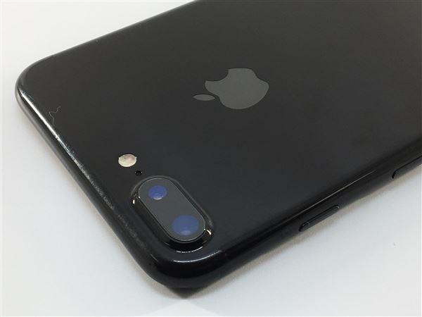 【中古】【安心保証】 iPhone7Plus[256GB] au MN6Q2J ジェットブラック