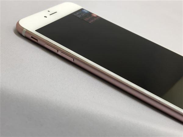 【中古】【安心保証】 iPhone6sPlus[16GB] au MKU52J ローズゴールド