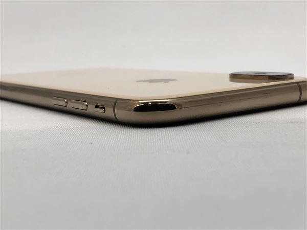 【中古】【安心保証】 iPhoneXS[512GB] au MTE52J ゴールド
