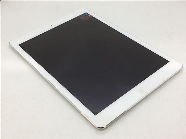 【中古】【安心保証】 iPadAir 9.7インチ 第1世代[16GB] セルラー au シルバー