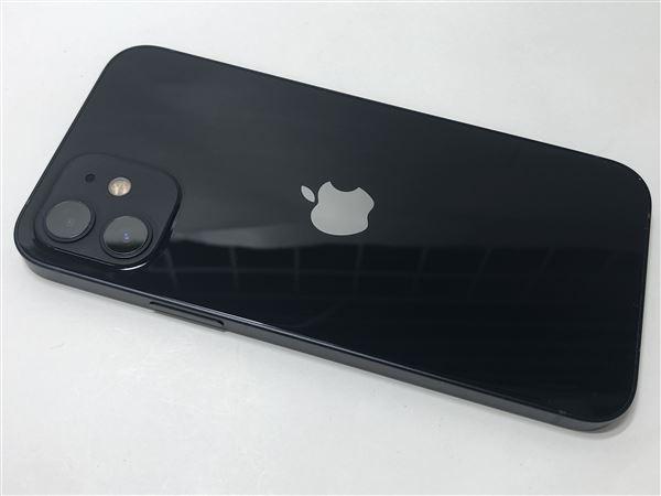 【中古】【安心保証】 iPhone12[256GB] SIMロック解除 SoftBank ブラック