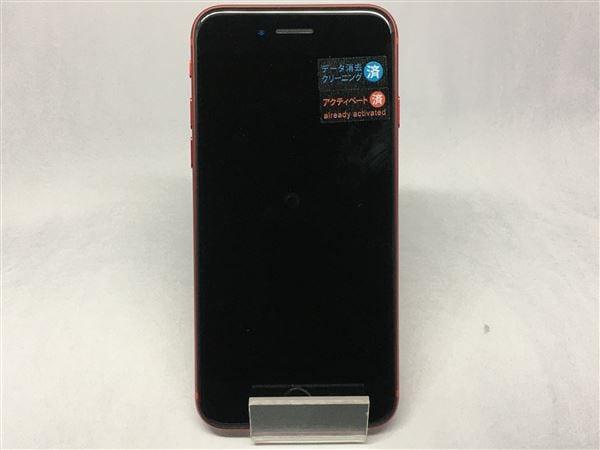 【中古】【安心保証】 iPhoneSE 第2世代[64GB] au MX9U2J レッド