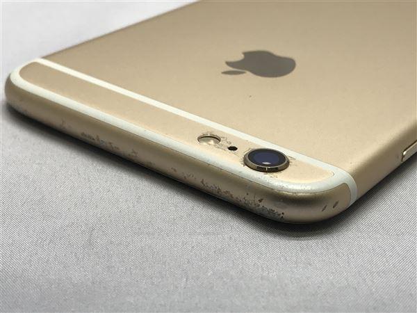 【中古】【安心保証】 iPhone6sPlus[128GB] docomo MKUF2J ゴールド