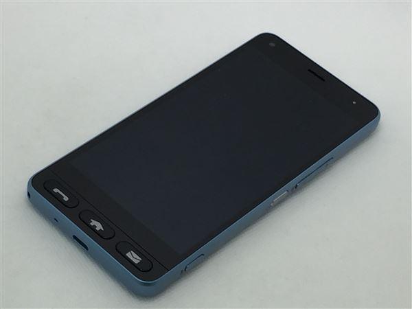 【中古】【安心保証】 Y!mobile 705KC ライトブルー