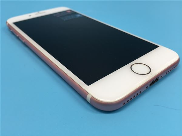 【中古】【安心保証】 iPhone7[32GB] SIMロック解除 au ローズゴールド