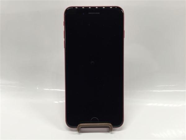 【中古】【安心保証】 iPhone8Plus[64GB] au MRTL2J レッド