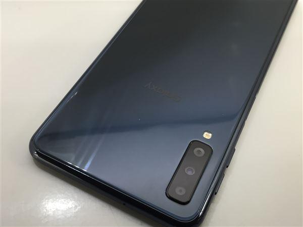 【中古】【安心保証】 SIMフリー Galaxy A7 ブルー 楽天モバイル版