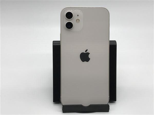 【中古】【安心保証】 iPhone12[256GB] Y!mobile MGJ13J ホワイト