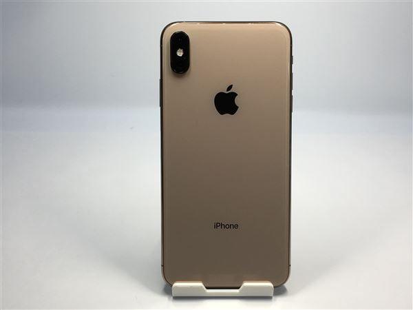 【中古】【安心保証】 iPhoneXSMax[512GB] SIMロック解除 SoftBank ゴールド