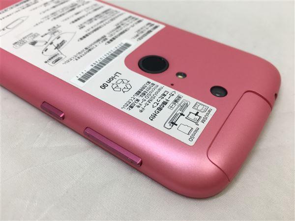 【中古】【安心保証】 SoftBank 301F ピンク