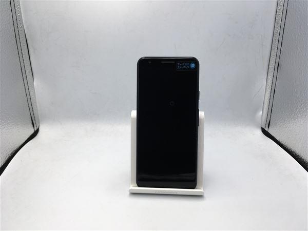 【中古】【安心保証】 docomo Pixel 3a[64G] ジャストブラック