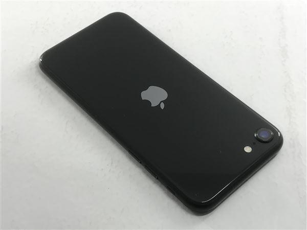 【中古】【安心保証】 iPhoneSE 第2世代[64GB] SoftBank MHGP3J ブラック