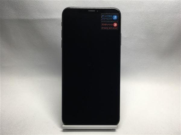 【中古】【安心保証】 iPhoneXSMax[256GB] SoftBank MT6U2J スペースグレイ