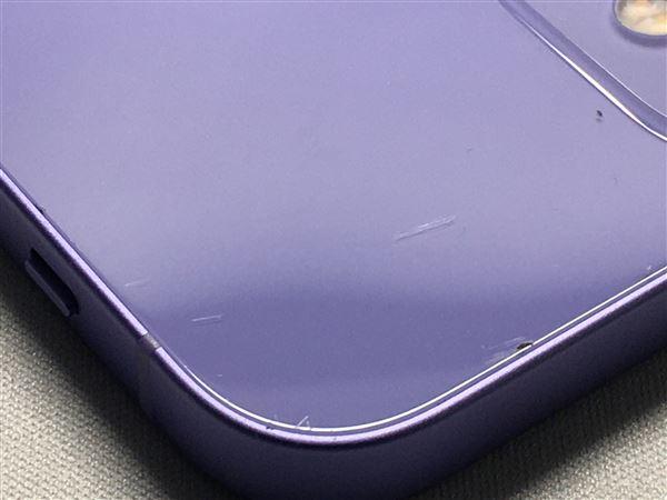 【中古】【安心保証】 iPhone12[128GB] au MJNJ3J パープル