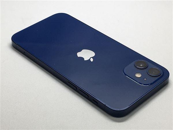 【中古】【安心保証】 iPhone12[128GB] SoftBank MGHX3J ブルー