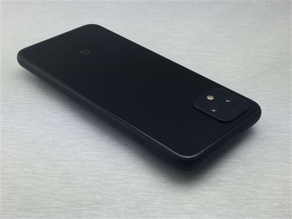 【中古】【安心保証】 SoftBank Pixel 4[64G] ジャストブラック