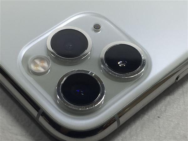 【中古】【安心保証】 iPhone11 Pro Max[256GB] SoftBank MWHK2J シルバー