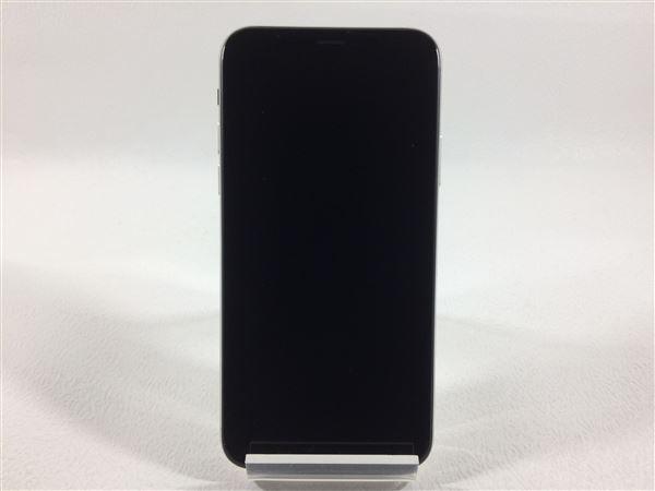 【中古】【安心保証】 iPhoneX[64GB] docomo NQAY2J シルバー
