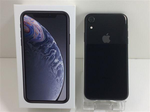 【中古】【安心保証】 iPhoneXR[128GB] SIMロック解除 docomo ブラック