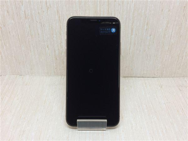 【中古】【安心保証】 iPhoneXS[64GB] SIMフリー ゴールド