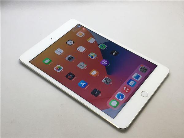 【中古】【安心保証】 iPadmini4 7.9インチ[128GB] セルラー au シルバー
