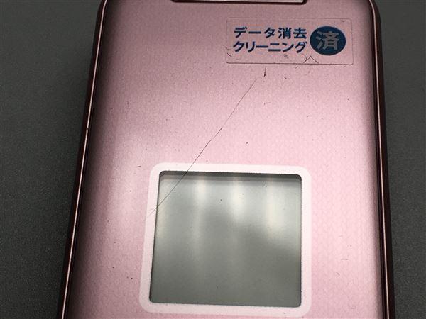 【中古】【安心保証】 docomo Fー01M ピンク