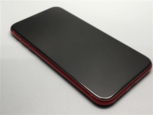 【中古】【安心保証】 iPhoneXR[256GB] au MT0X2J レッド
