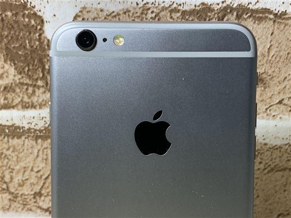 【中古】【安心保証】 iPhone6sPlus[16GB] SoftBank MKU12J スペースグレイ