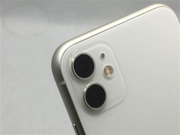 【中古】【安心保証】 iPhone11[64GB] SIMロック解除 au ホワイト