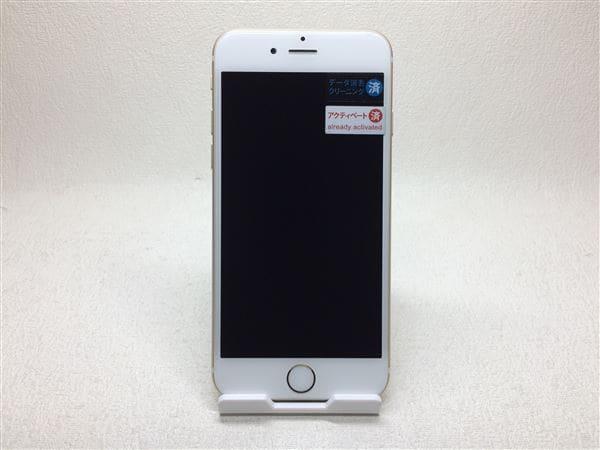 【中古】【安心保証】 iPhone6[64GB] au MG4J2J ゴールド