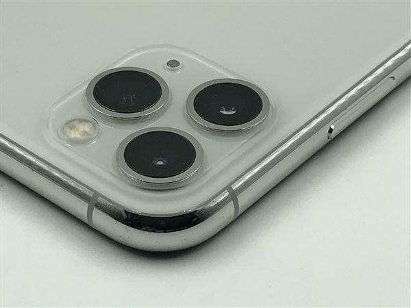 【中古】【安心保証】 iPhone11 Pro[512GB] SIMフリー シルバー