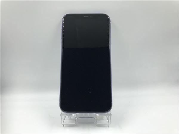 【中古】【安心保証】 iPhone11[64GB] SIMフリー パープル