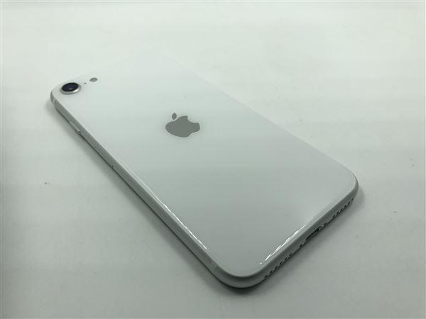 【中古】【安心保証】 iPhoneSE 第2世代[128GB] au MXD12J ホワイト