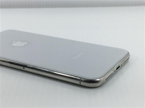 【中古】【安心保証】 iPhoneX[64GB] SoftBank MQAY2J シルバー