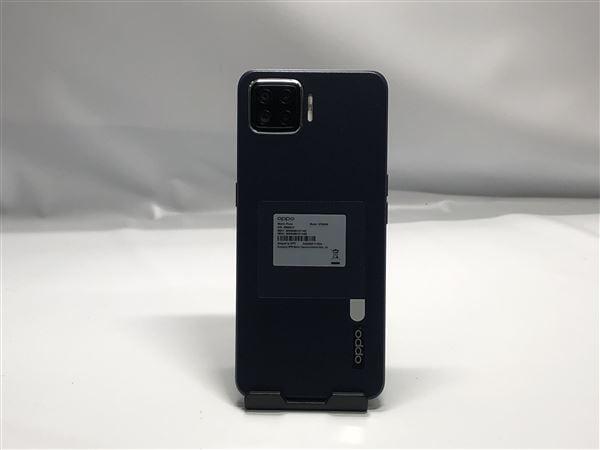 【中古】【安心保証】 楽天モバイル OPPO A73 ブルー