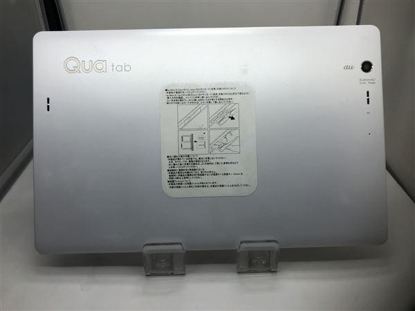 【中古】【安心保証】 au Qua tab PZ LGT32 ホワイト