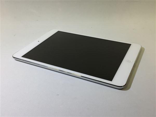 【中古】【安心保証】 iPadmini 7.9インチ 第1世代[64GB] セルラー au ホワイト&シルバー